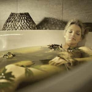 травяные ванны при крапивнице