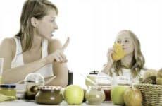 Регулируем питание детей при крапивнице: описание диеты и разрешенных продуктов