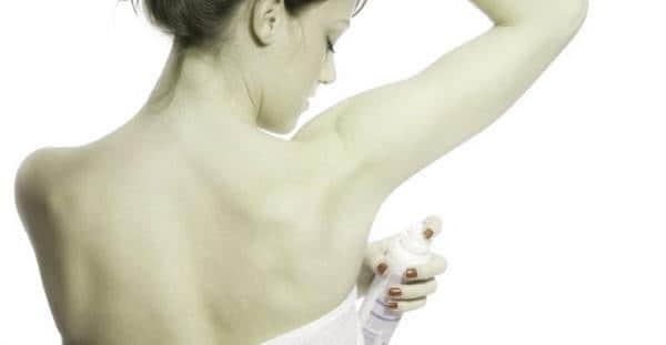 Дезодорант как причина дерматита